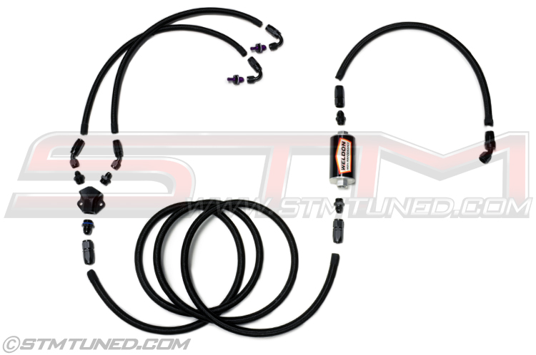 Stm Stm Evo 8 9 Double Pumper Fuel Feed Kit Evolution