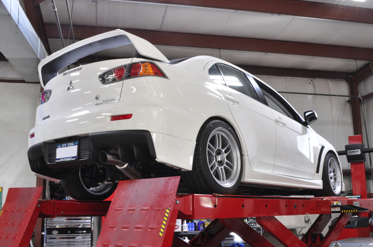 Report This Image: Evo X Single Exhaust At Woreks.co