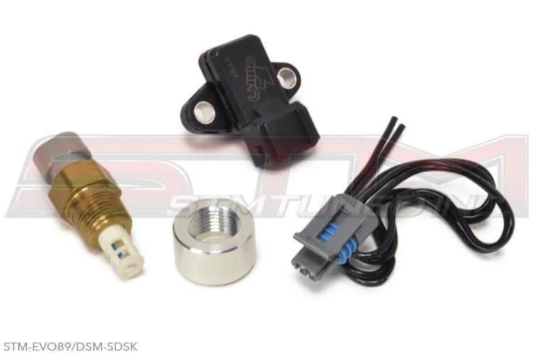 stm_gm_speed_density_sensor_kit_evo_dsm stm evolution viii ix buy sensors, wiring & install parts evo 9 wiring harness at creativeand.co