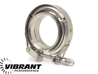 Vibrant 1494C Stainless Steel V-Band Clamp for 5 Flange