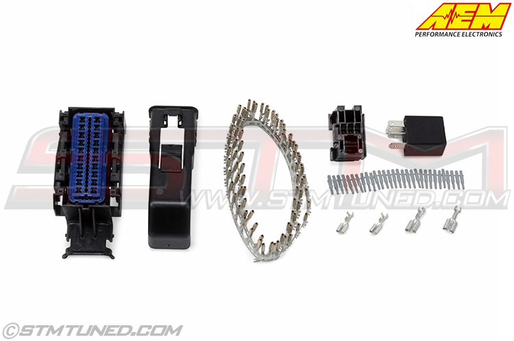 stm aem infinity series 5 plug   pin kit 30 3704 Automotive Wiring Connectors Supplies Wiring Harness Terminals and Connectors