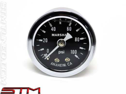 Stm 0 100 Psi Fuel Psi Gauge