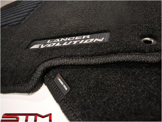 Stm Oem Mitsubishi Floor Mats Evo X 4b11 Mz360238ex