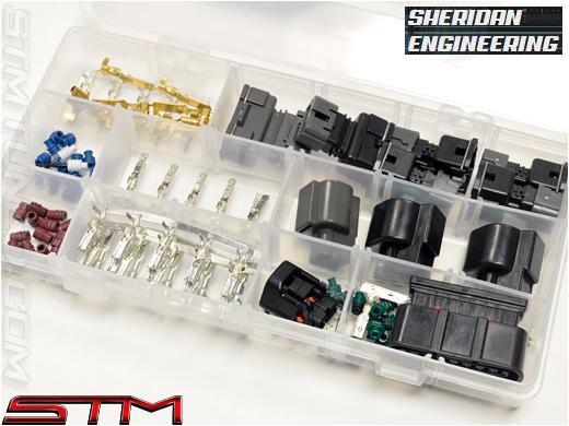sheridan_engineering_engine_harness_connector_kit_dsm_97_99 stm sheridan engineering engine harness connector kit 2g 97 99