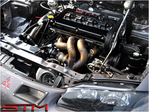 Stm Stm Forward Facing Turbo Manifold 95 99 2g Dsm