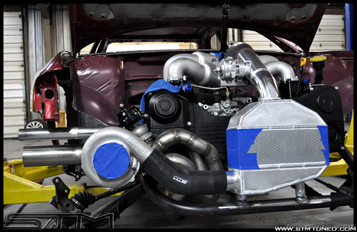 Project Subaru Impreza Rs Stm Style